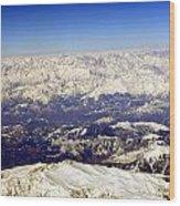 The Great Himalayas- Viator's Agonism Wood Print