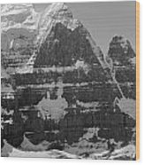 1m3752-bw-the Great North Face Of North Twin Wood Print