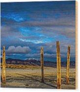 The Great Salt Lake Wood Print
