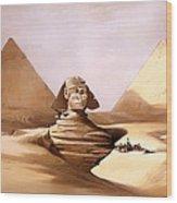 The Great Sphinx Wood Print