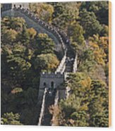 The Great Wall 629 Wood Print