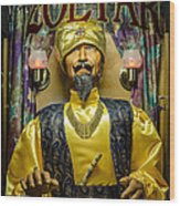 The Great Zoltar Wood Print