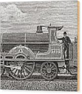 The Greater Britain Passenger Wood Print