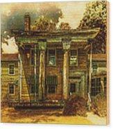 The Greek Revival That Needs Revival Wood Print