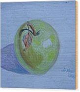 The Green Apple Wood Print
