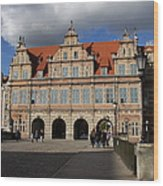 The Green Gate - Gdansk Wood Print