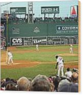 The Green Monster Wood Print