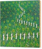 The  Green  Payages By Frantz Petion Wood Print