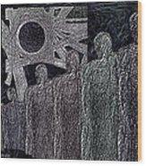 The  Grey  Legions  Wood Print