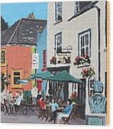 The Greyhound Bar Kinsale Wood Print