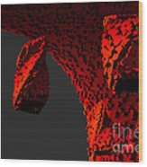 The Grim Leaper Wood Print