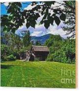 The Grist Mill II Wood Print