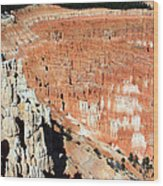 The Grotto At Bryce Canyon Wood Print