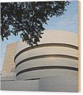 The Guggenheim Museum Wood Print