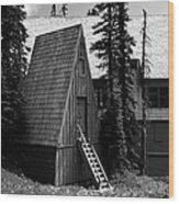 The Guide House At Paradise Wood Print
