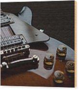 The Guitar Wood Print