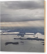 The Gulf Of Morbihan, Saint Armel Wood Print