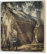 The Gullah Theater At Boone Hall Wood Print
