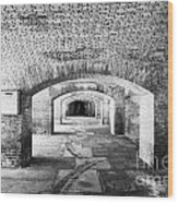The Gunrooms In Fort Jefferson Dry Tortugas National Park Florida Keys Usa Wood Print