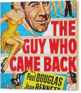 The Guy Who Came Back, Us Poster, Paul Wood Print