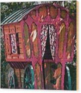 The Gypsy Caravan  Wood Print