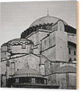 The Hagia Sophia Wood Print by Shaun Higson