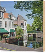 The Hague In The Netherlands Wood Print