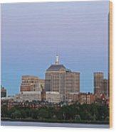 The Hancock And Boston Wood Print