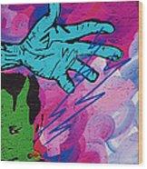 The Hand Of Frankenstein Wood Print