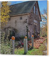 The Harvest Is In Wood Print by Jeff Folger