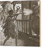 The Hauhaus Shot Or Bayoneted Them - Wood Print