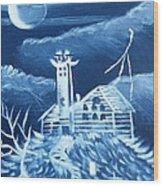 The Haunted Wood Print by The GYPSY And DEBBIE