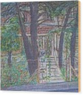 The Haunted House In Talpiot Jerusalem Wood Print