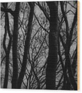 The Haunting Wood Print