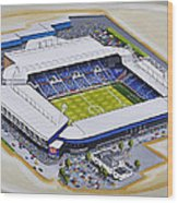 The Hawthorns - West Bromwich Albion Fc Wood Print