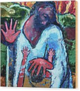 The Healing Of A Child Wood Print