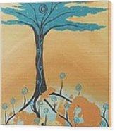 The Healing Tree Wood Print