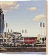 The Heart Of Cincinnati  Wood Print