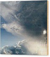 The Heavens After The Rain Wood Print