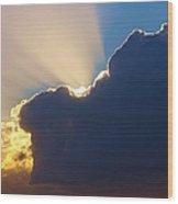 The Heavens Wood Print