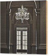 The Height Of Elegance Wood Print