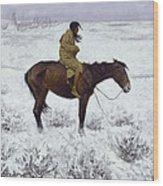 The Herd Boy Wood Print