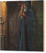 The Hermit Wood Print