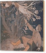 The Hero Of This Russian Folk- Tale Wood Print