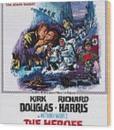 The Heroes Of Telemark, Us Poster Art Wood Print