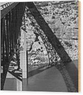 The High Bridge Wood Print
