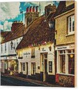 The High Street Wood Print