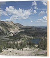 The High Uintas Wood Print