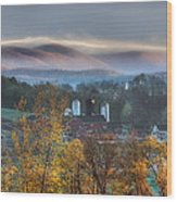 The Hills Wood Print by Bill Wakeley