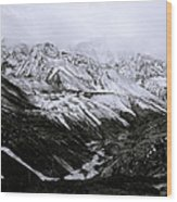 The Himalaya Wood Print